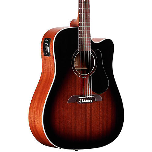 Alvarez RD266SCESB Dreadnought Acoustic-Electric Guitar