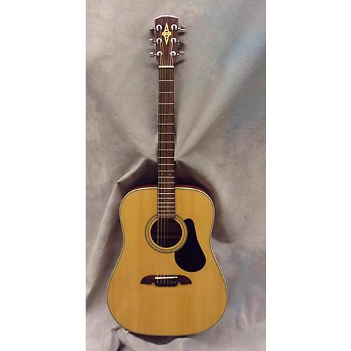 Alvarez RD9VP Natural Acoustic Guitar