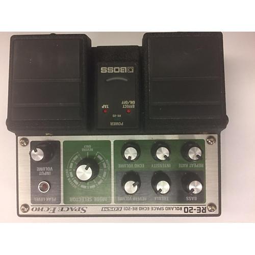 Boss RE20 Space Echo Effect Pedal