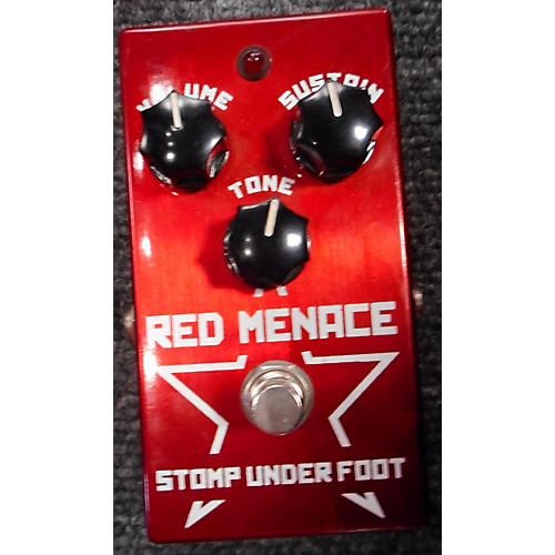 Stomp Under Foot RED MENACE Effect Pedal