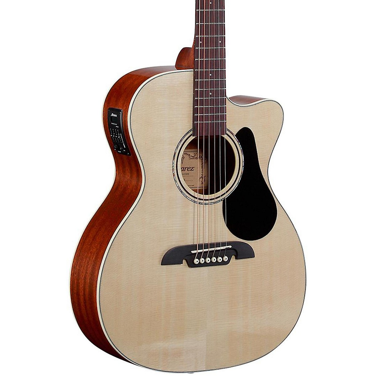 Alvarez RF26CE OM/Folk Acoustic-Electric Guitar