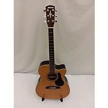 Alvarez RF27CE OM/Folk Acoustic Electric Guitar