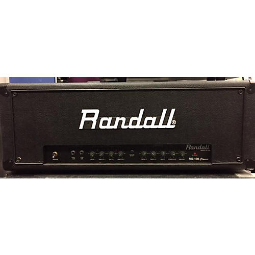 Randall RG 100 Classic Solid State Guitar Amp Head