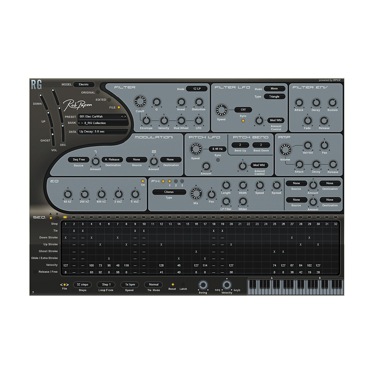 Rob Papen RG Rhythm Guitar Synth Software Download