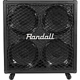 Randall RG412 4x12 200W Guitar Speaker Cabinet Black