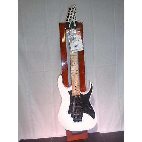 used ibanez rg450mb solid body electric guitar white guitar center. Black Bedroom Furniture Sets. Home Design Ideas