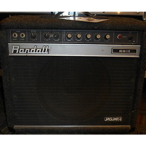 Randall RG50112 Black Guitar Combo Amp