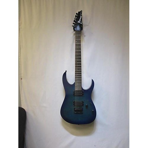 used ibanez rg6003fm solid body electric guitar sapphire blue trans guitar center. Black Bedroom Furniture Sets. Home Design Ideas