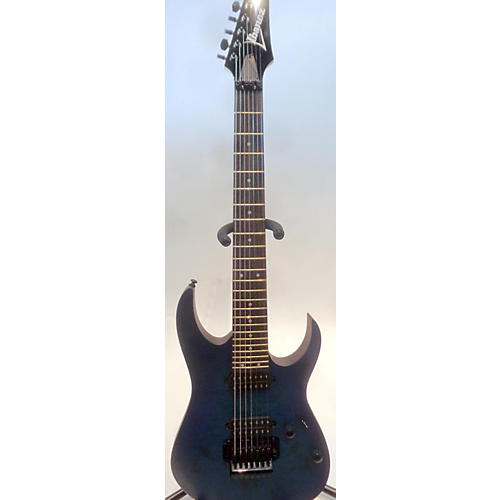 used ibanez rg7420 pbsbf solid body electric guitar sapphire blue trans guitar center. Black Bedroom Furniture Sets. Home Design Ideas