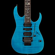 RG8570Z j.custom Electric Guitar Transparent Blue