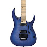 RGA series RGAR42MFMT Electric Guitar Flat Blue Lagoon Burst