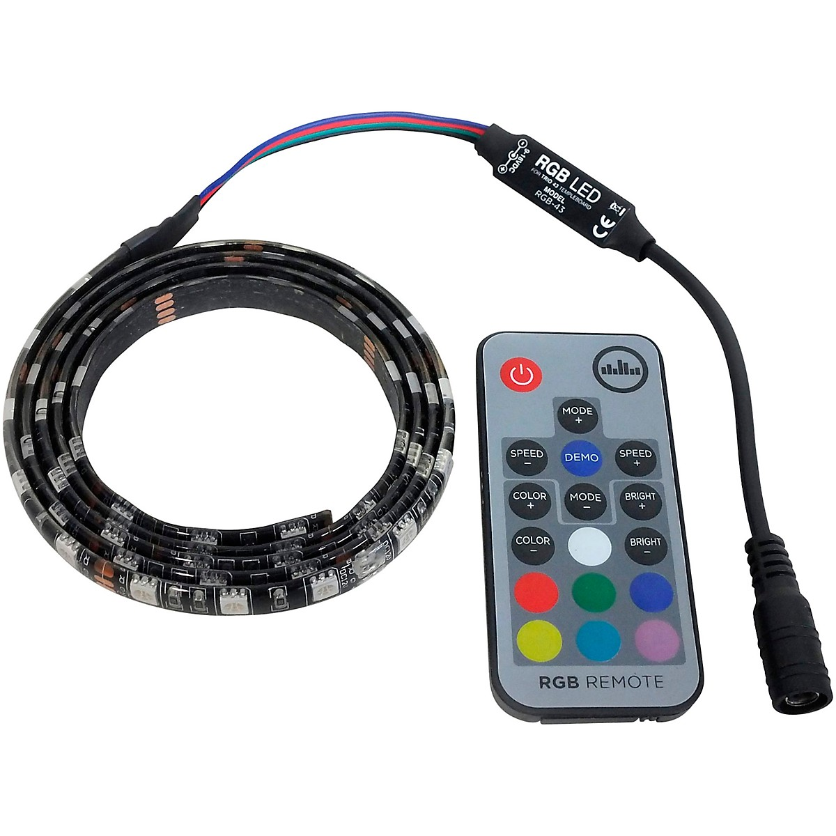 Temple Audio Design RGB LED Light Strip for TRIO 28 Pedalboard