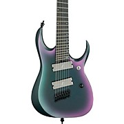 RGD71ALMS Axion Label Multi-Scale 7-String Electric Guitar Black Aurora Burst