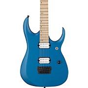 RGDIR6M RGD Iron Label Electric Guitar Laser Blue Matte