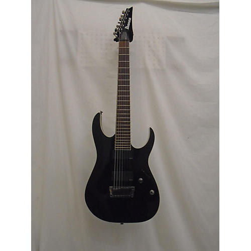 used ibanez rgir27e iron label 7 string solid body electric guitar black guitar center. Black Bedroom Furniture Sets. Home Design Ideas