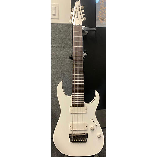 used ibanez rgir28fe iron label 8 string solid body electric guitar white guitar center. Black Bedroom Furniture Sets. Home Design Ideas