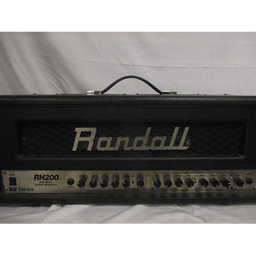 Randall RH200 SOLID STATE GUITAR HEAD Solid State Guitar Amp Head