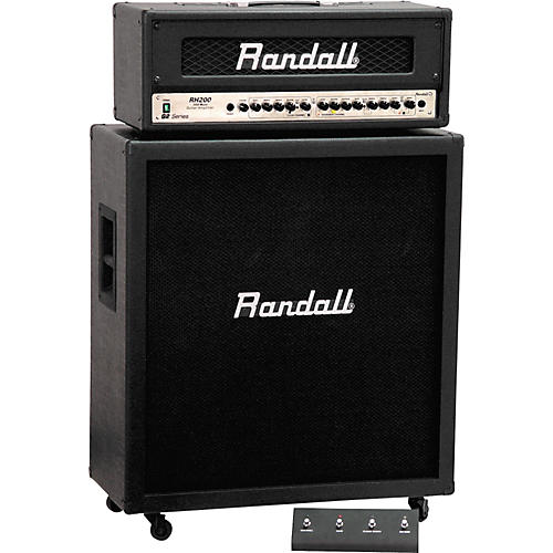 Randall RH200G2/RS125CX Half Stack