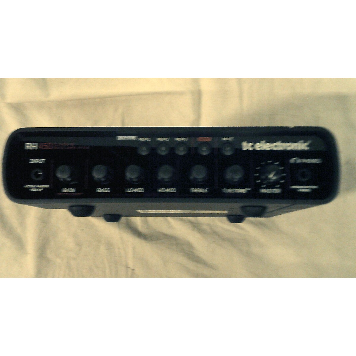 TC Helicon RH450 Bass Amp Head