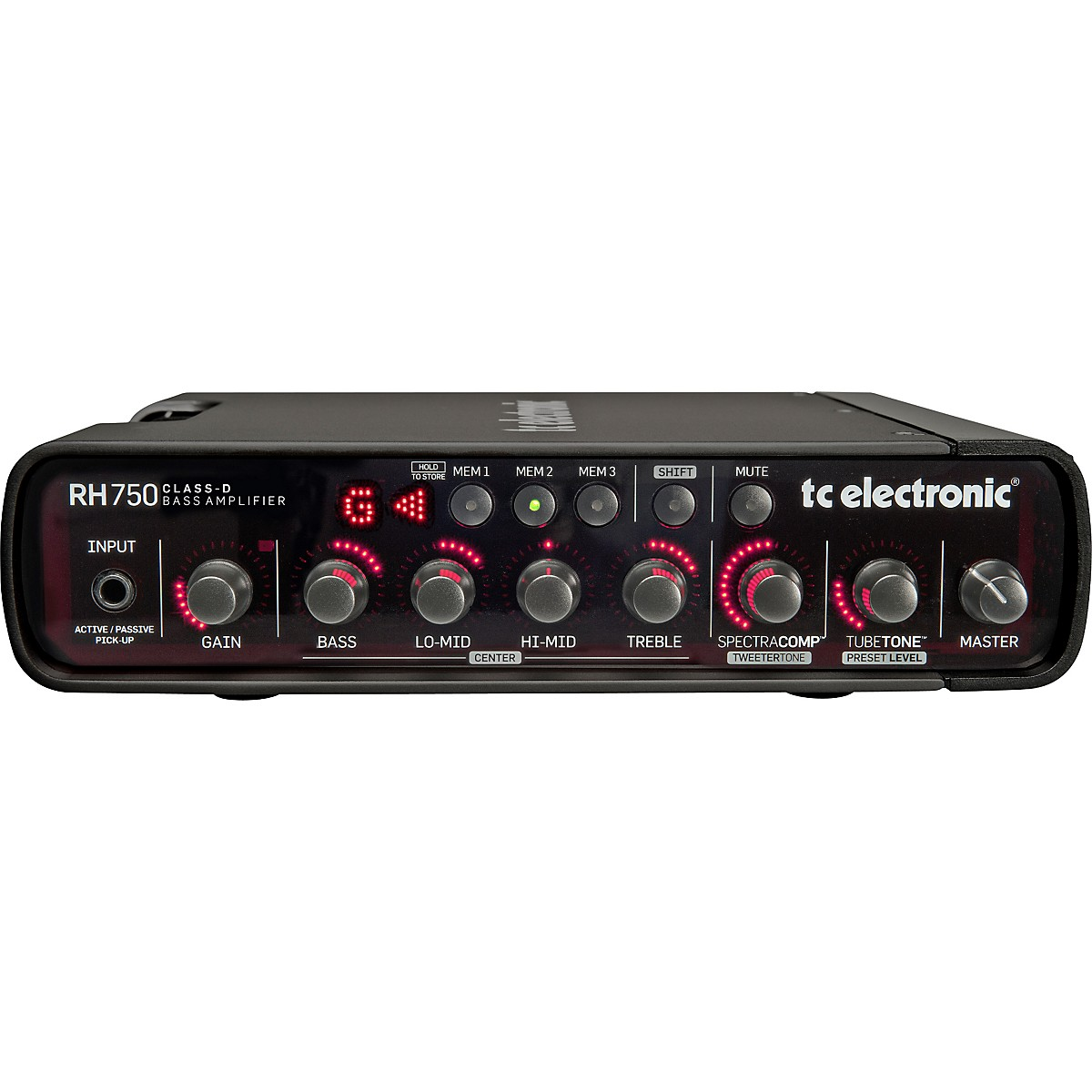 TC Electronic RH750 750W Bass Amp Head