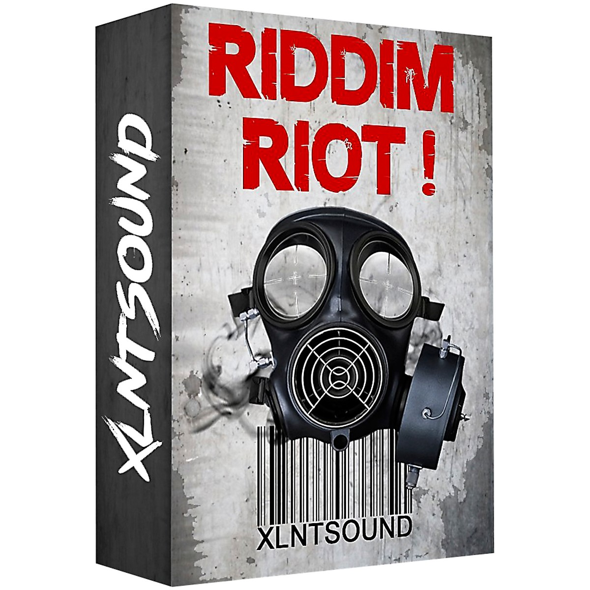 XLNTSOUND RIDDIM RIOT / 255 DUBSTEP DRUM SAMPLES
