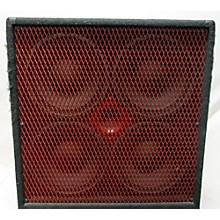 Carvin RL410T Red Eye Bass System Bass Cabinet