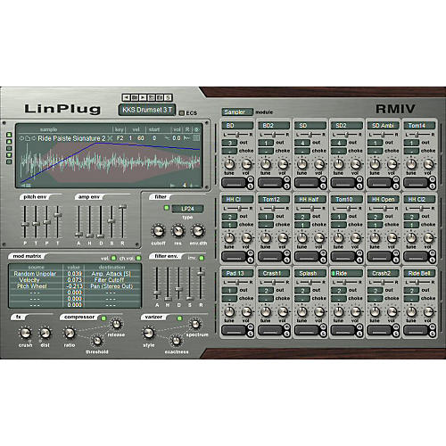 ZZZ RMIV Software Drum Sampler
