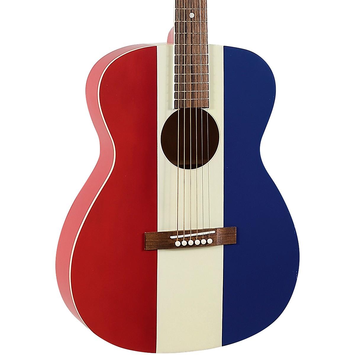 Recording King ROA-9-RWB Limited Edition Bakersfield 000 Acoustic Guitar