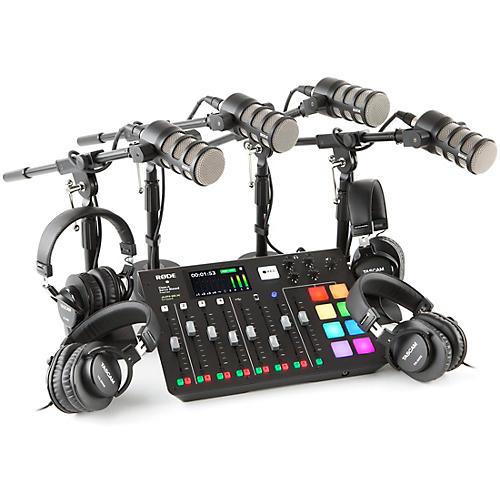 Rode RODEcaster Pro Multi PodMic Podcasting Bundle