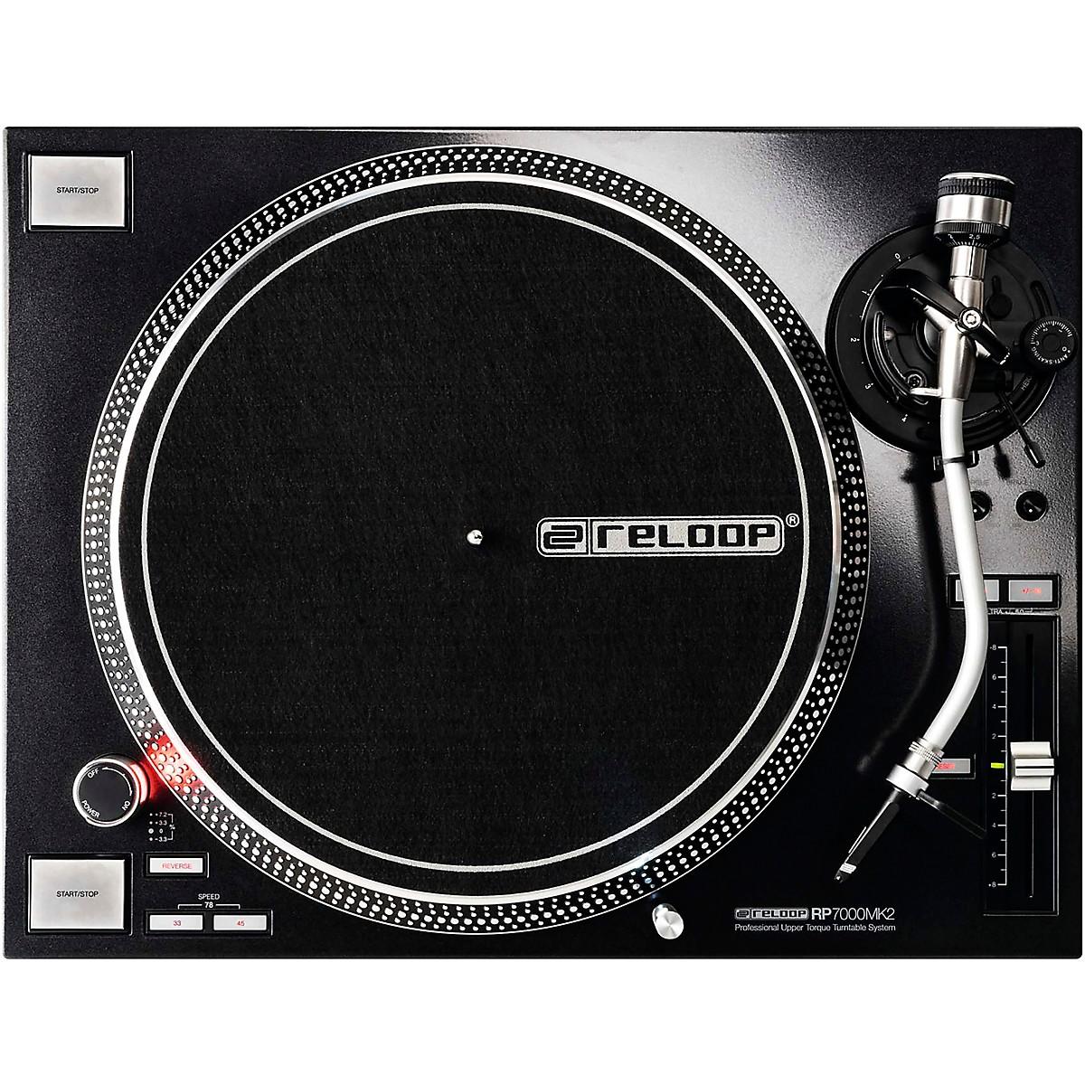 Reloop RP-7000 MK2 Professional Direct-Drive DJ Turntable
