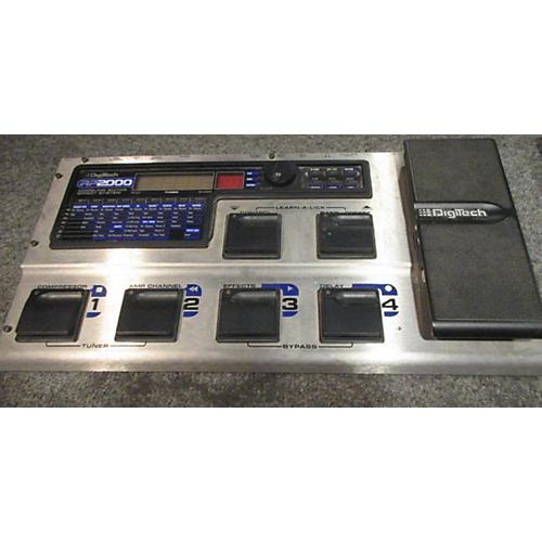 Digitech RP2000 Silver Effect Processor