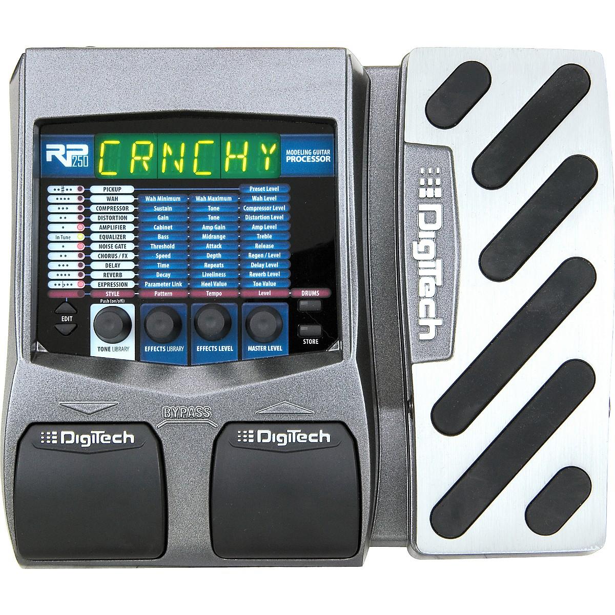 1000 PRESETS DIGITECH RP250 GUITAR PROCESSOR ARTIST PATCHES EFFECTS AMPS