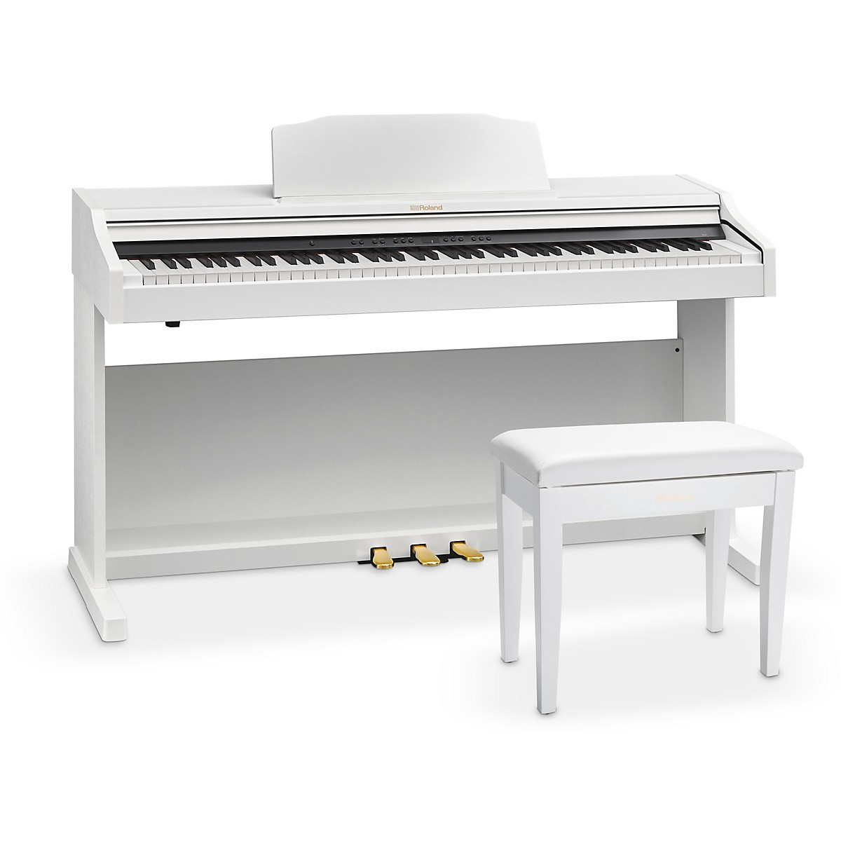 Roland RP501R Digital Home Piano with Bench White