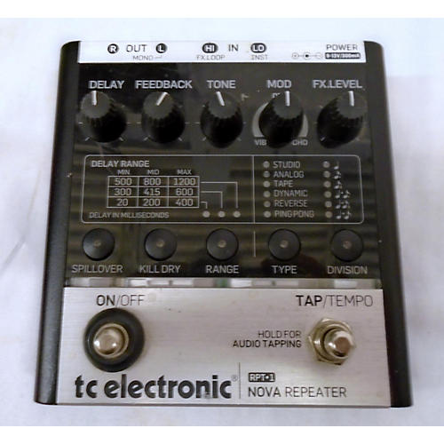 TC Electronic RPT1 Effect Pedal