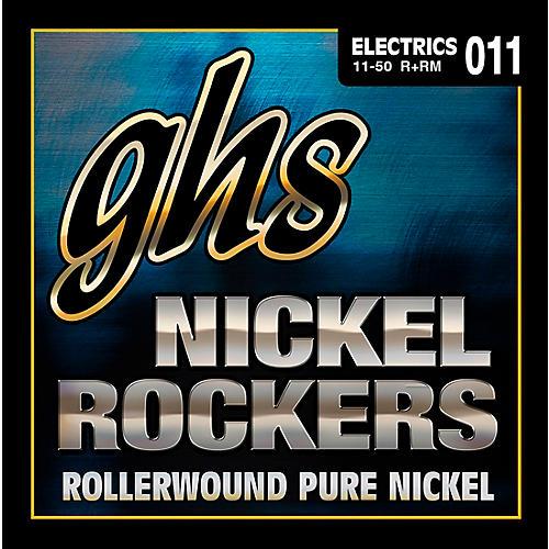 GHS R+RM Nickel Rockers Roundwound Medium Electric Guitar Strings