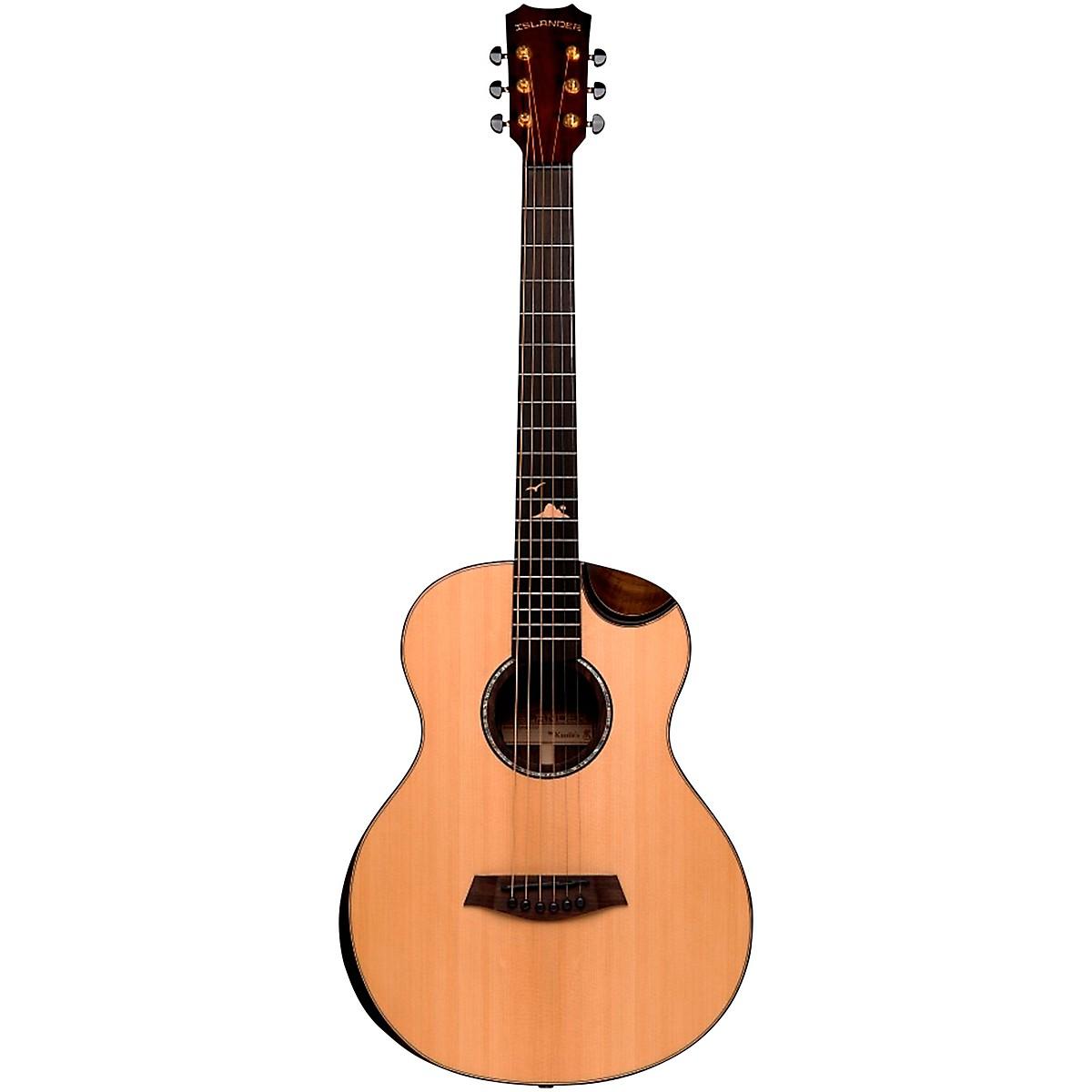 Islander RS-MG-EQ Deluxe Acacia Acoustic-Electric Mini Guitar