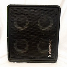 TC Electronic RS410 4x10 600W Vertical Stacking Bass Cabinet