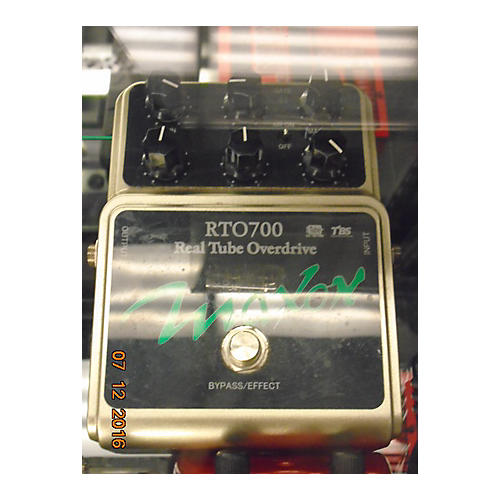Maxon RTO700 Real Tube Overdrive Effect Pedal