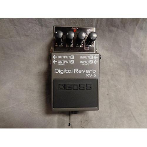 Boss RV5 Digital Reverb Effect Pedal