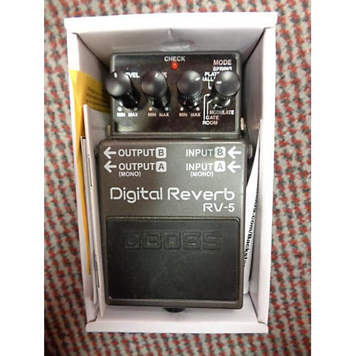 Boss RV5 Digital Reverb Effect Pedal