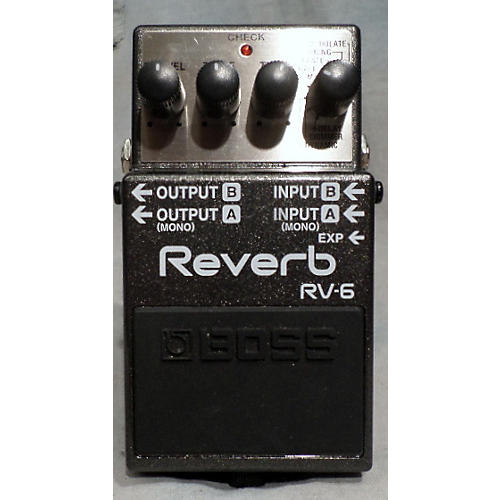 Boss RV6 Digital Reverb Effect Pedal