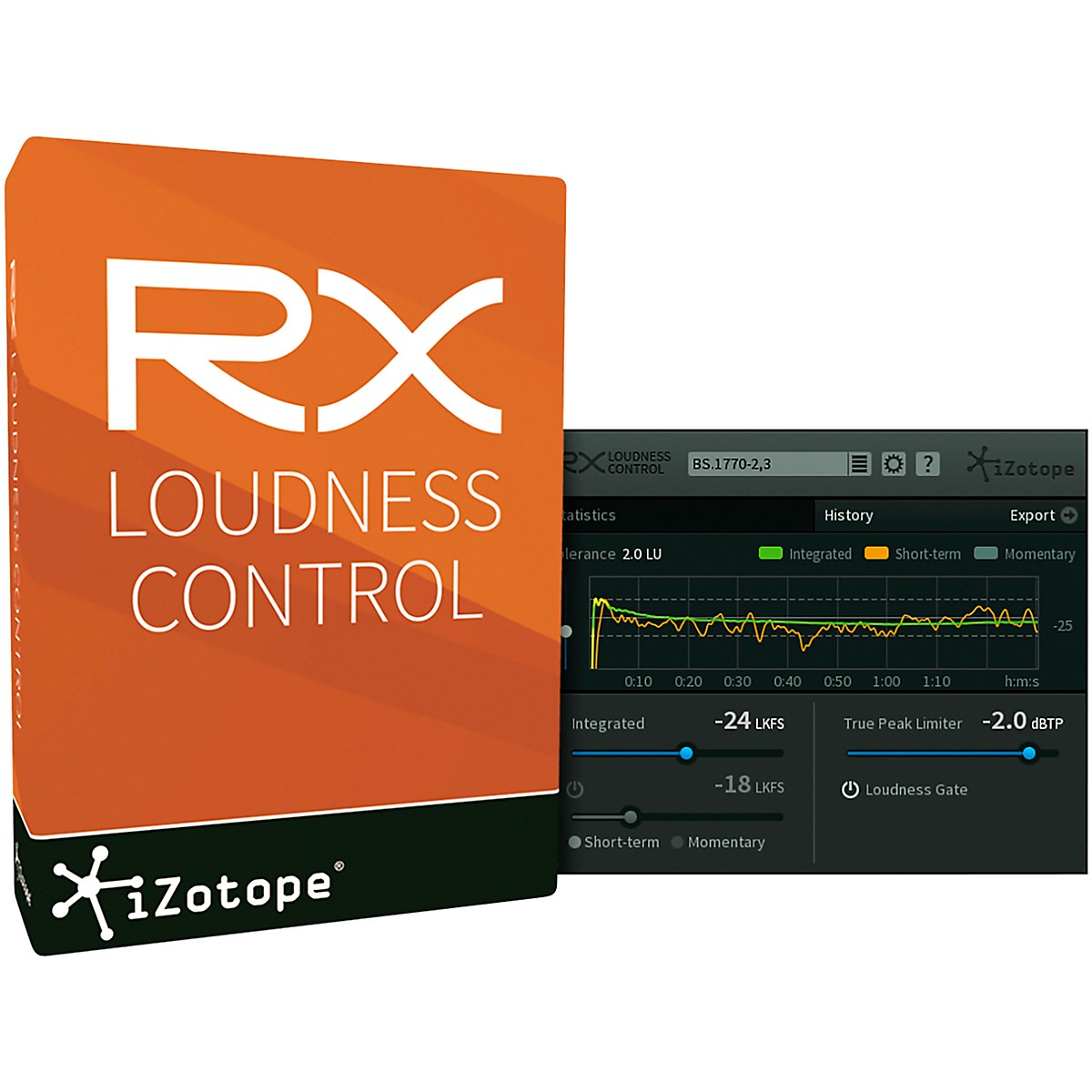 iZotope RX Loudness Control EDU (Download)