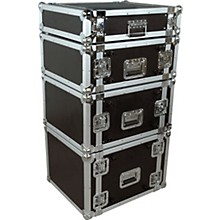 Rack Flight Case 4 Spaces Black