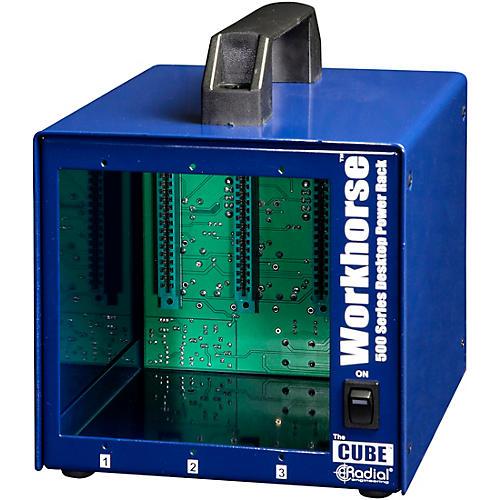 Radial Engineering Radial Workhorse Cube Desktop Power Rack
