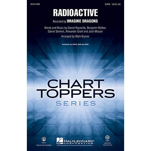 Hal Leonard Radioactive SAB by Imagine Dragons Arranged by Mark Brymer