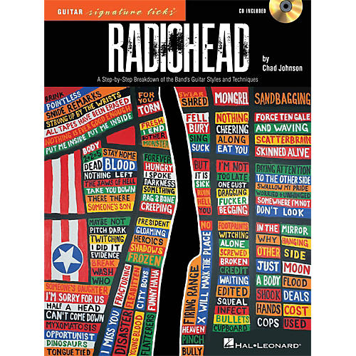 Hal Leonard Radiohead - Guitar Signature Licks - A Step-By-Step Breakdown Book/CD
