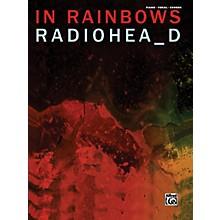 Alfred Radiohead In Rainbows Piano Vocal Guitar Book