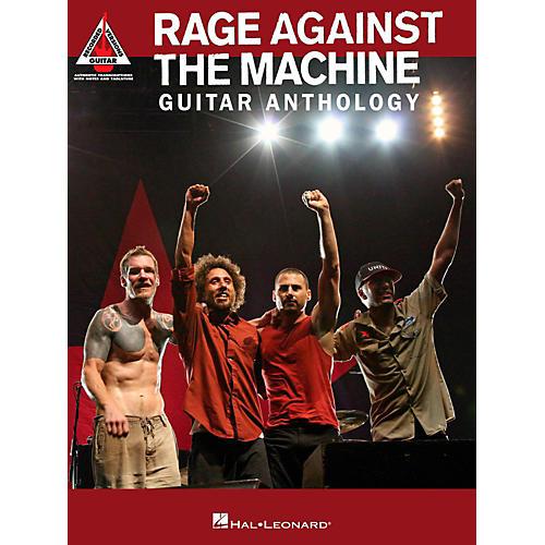Hal Leonard Rage Against The Machine Guitar Anthology