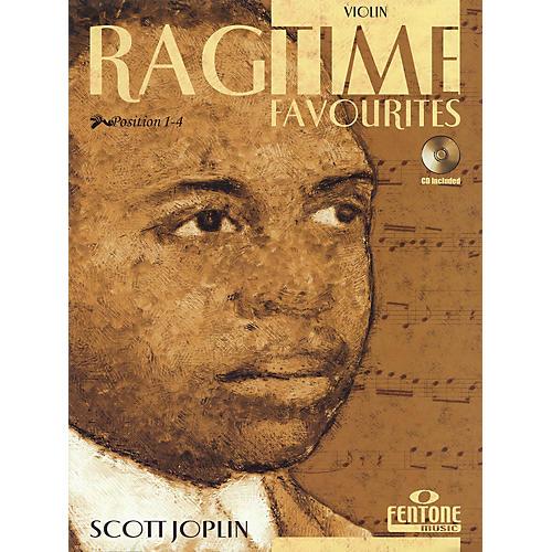 Fentone Ragtime Favourites by Scott Joplin Fentone Instrumental Books Series Softcover with CD