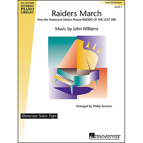 Hal Leonard Raider's March Late Elementary Level 3 Showcase Solo Hal Leonard Student Piano Library